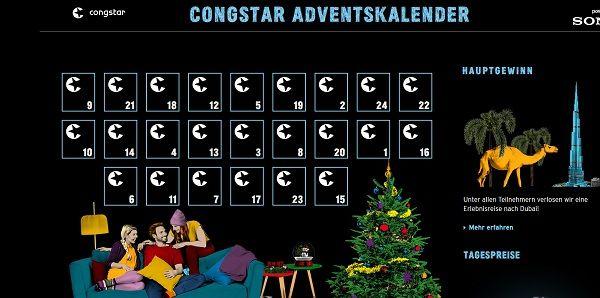 Congstar Adventskalender Gewinnspiel 2017