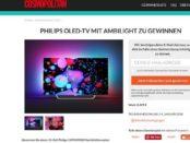 Cosmopolitan Gewinnspiel Philips OLED-TV 2017