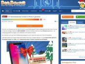 DealDoktor Adventskalender Gewinnspiel Apple iPhone X