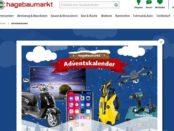 Hagebaumarkt Adventskalender Gewinnspiel 2017