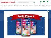 Hagebaumarkt Adventskalender Gewinnspiel Apple iPhone X 2017