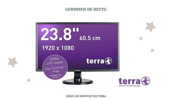 Jeans Fritz Adventskalender Gewinnspiel 2017 Terra LED Monitor