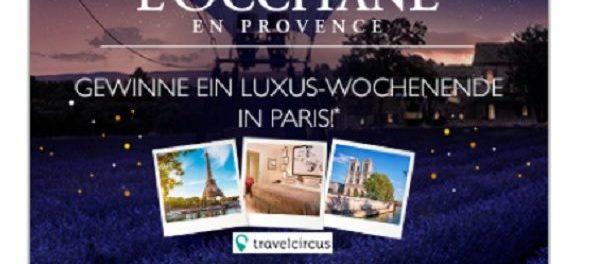 L´Occitane Weihnachtsgewinnspiel Paris Wochenendreise 2017