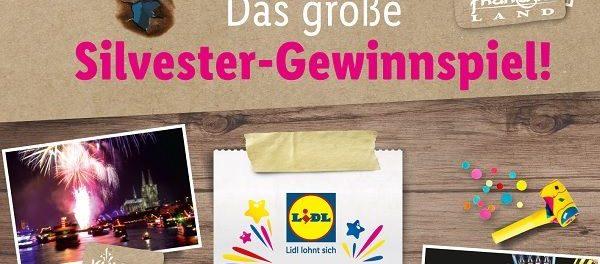 Lidl und Weco Silvester Gewinnspiel VIP Wochenende Phantasialand Brühl