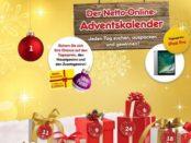 Netto Adventskalender Gewinnspiel Apple iPad Pro