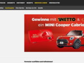 Netto Gewinnspiel Mon Cheri Mini Cooper Cabrio 2017