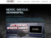 Nexoc Gamer Notebook Gewinnspiel 2017