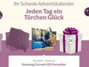 Schwab Adventskalender Samsung Curved-LED Fernseher