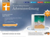 Stiftung Warentest Apple iPad Pro Gewinnspiel 2017