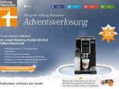 Stiftung Warentest Kaffeevollautomat Gewinnspiel Adventskalender 2017