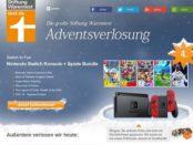 Stiftung Warentest Nintendo Switch Adventskalender Gewinnspiel 2017