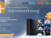 Stiftung Warentest Playstation 4 Pro Gewinnspiel 2017