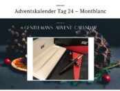 The Suit League Adventskalender Gewinnspiel Mont Blanc 2017
