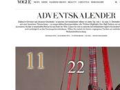 Vogue Adventskalender Gewinnspiel 2017