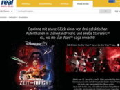 real Gewinnspiel Star Wars Disneyland Paris 2017