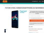 selbst Gewinnspiel Honor Smartphone 2018