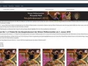 Amazon Gewinnspiel Neujahrskonzert Wiener Philharmoniker 2019