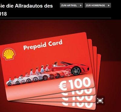 Auto Bild Leserwahl Gewinnspiel Allradauto 2018