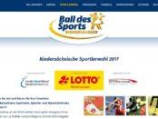 Ball des Sports Gewinnspiel Sportlerwahl 2017