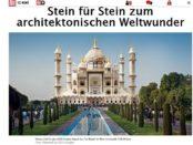Bild.de Gewinnspiel Lego Taj Mahal Baukasten