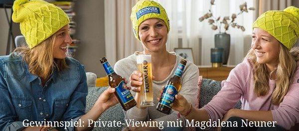 Erdinger Gewinnspiel Biathlon Magalena Neuner 2018