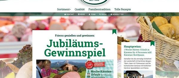 Frierrs Gewinnspiel Hüttenurlaub Kärnten 2018