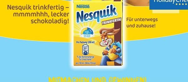 Frischli Gewinnspiel Nesquik Familienurlaub 2018