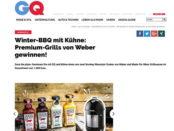 GQ Magazin Gewinnspiel Weber Grill Kühne 2018