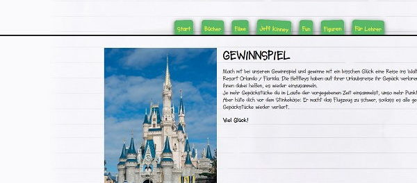 Gregs Tagebuch Gewinnspiel Walt Disney World Resort Orlando Florida Reise
