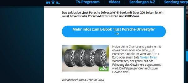 Grip Motormagazin Gewinnspiel Nokian Winterreifen Satz 2018