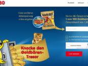 Haribo Goldbären Gewinnspiel Tresor Goldbarren 2018