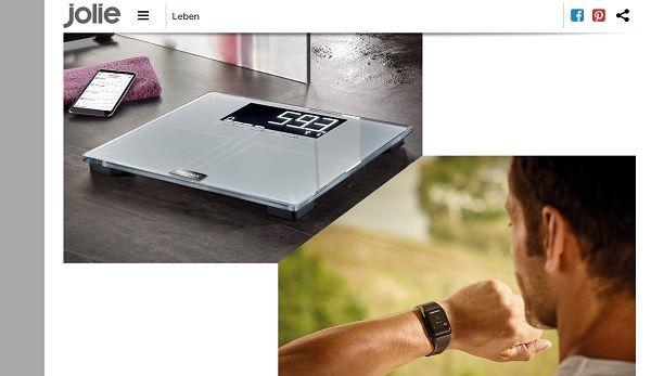 jolie gewinnspiele soehnle fitness paket gewinnen. Black Bedroom Furniture Sets. Home Design Ideas