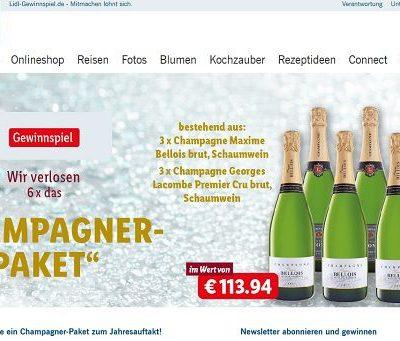 Lidl Champagner Gewinnspiel 2018