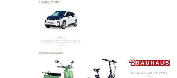 E Auto Gewinnspiel : auto gewinnspiel logoclic wunschwald bmw i3 ~ Lizthompson.info Haus und Dekorationen