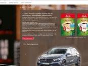 Melitta 7 zum Glück Auto Gewinnspiel Mercedes 2018
