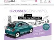 Mia Moda Auto Gewinnspiel Fiat 500 2018