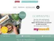 Otto Shopping Festival Gewinnspiel mymuesli Gutscheine 2018