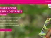 Telekom Costa Rica Reise Gewinnspiel 2018