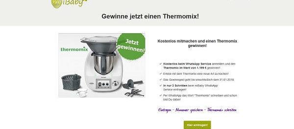 Thermomix Gewinnspiel Mibaby.de 2018