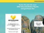 UHU Reise Gewinnspiel Neckermann Reisegutschein 2018