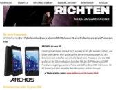 Unicum Gewinnspiel Archos Smartphone 2018