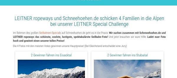 X-Challenge Fotowettbwerb 2018 Reisen gewinnen