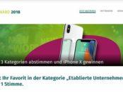 Xing Apple iPhone X Gewinnspiel 2018