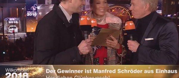 ZDF Willkommen 2018 Auto Gewinnspiel Gewinner