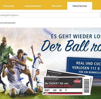 real Gewinnspiel Coca Cola Bundeslige Tickets 2018