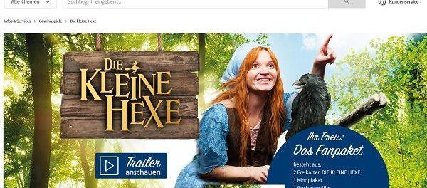 real Gewinnspiel die Kleine Hexe Kinostart 2018