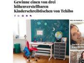 Brigitte Gewinnspiel Tchibo Kinderschreibtische 2018