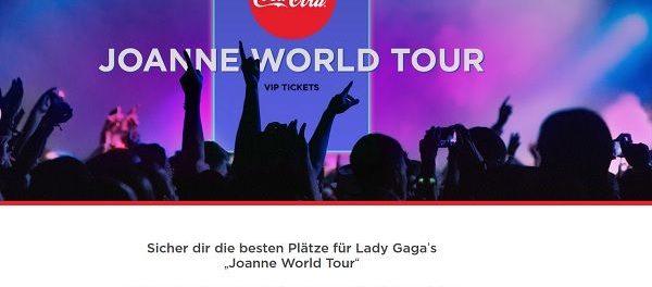 Coca Cola Lady Gaga Gewinnspiel 2018