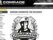 Comrade Gewinnspiel 50 Euro Gutschein