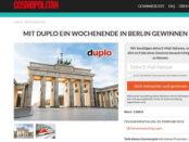 Cosmopolitan Duplo Gewinnspiel Berlin Reise 2018